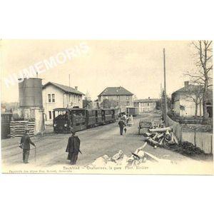 Dauphiné Charavines la gare