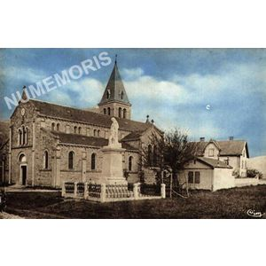 Chirens Isère Eglise et monument aux morts