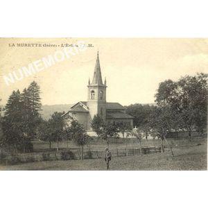 la Murette (Isère) l'église A.M
