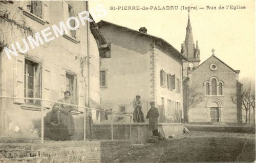 Saint Pierre de Paladru cp