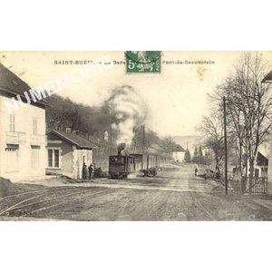 Saint-Bueil la gare ligne de pont de Beauvoisin