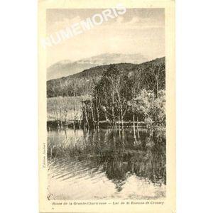 Route de Grande Chartreuse lac de St Etienne de Crossey