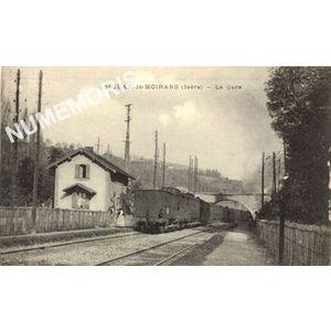 Saint Jean de Moirans (Isère) la gare
