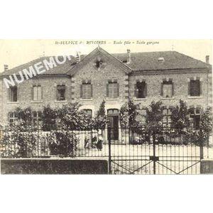 St-Sulpice des Rivoires école filles école garçons