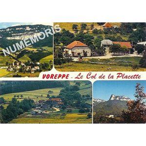 Voreppe - Le Col de la Placette