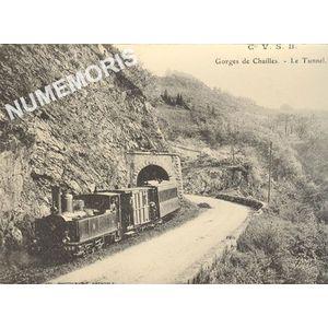Cie VSB Gorges de Chailles le tunnel
