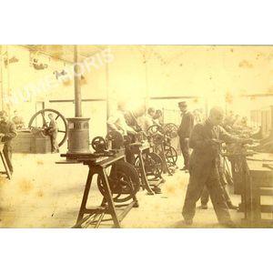 atelier de l'ENP en 1886