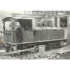 locomotive 030 T Pinguely à l'usine de st Béron 1950
