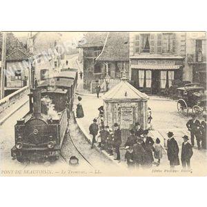 Pont de Beauvoisin le tramway LL