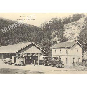 Cie VSB Fourvoirie la gare