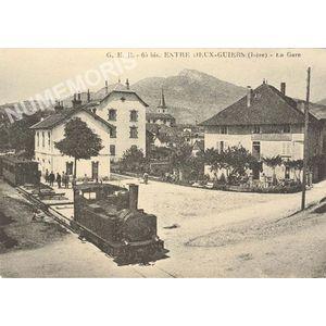 G. E. B. 65 bis Entre Deux-Guiers (Isère) la gare