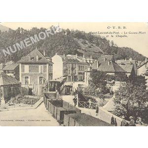 Cie VSB Saint-Laurent-du-Pont le Guiers mort et la chapelle