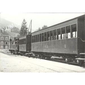 train pour St Béron à St Laurent du Pont