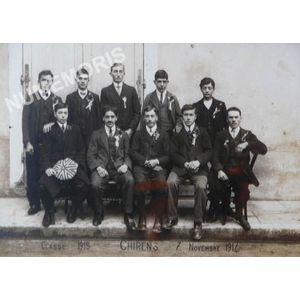 conscrits de Chirens de 1915