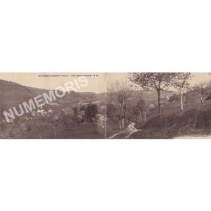 Saint-Aupre-le-Haut (Isère) vue panoramique A.M.