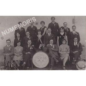 conscrits de St Aupre de 1929-30