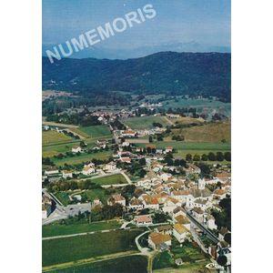 ST-Etienne-de Crossey (Isère) vue générale aérienne