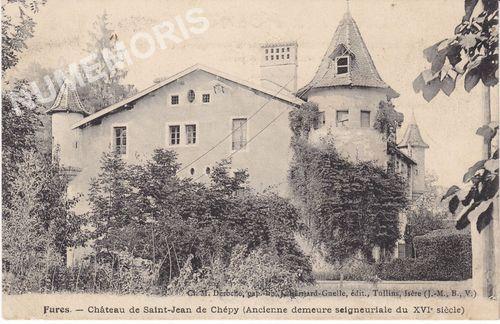 Tullins cp châteaux