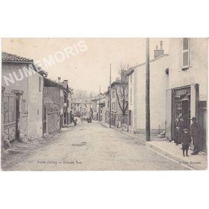 FURES (Isère) Grande rue