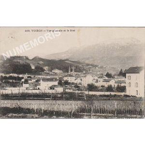 0169 Dauphiné Voiron vue générale et le Bret