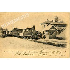 225 ligne de Voiron à Saint-Béron station de la croix-Bayard
