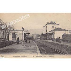 le Dauphiné pittoresque 24 Voiron la gare intérieure