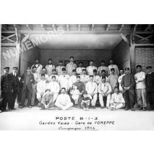 Voreppe : militaires et employés PLM
