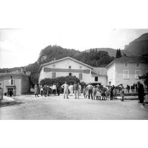 Dauphiné - Voreppe - le pont 1915