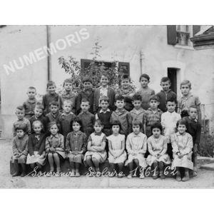 Chirens école en 1961-62 primaire