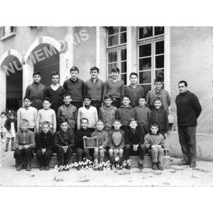 Chirens école en 1964-65 garçons