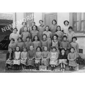 Chirens école en 1956-57 filles