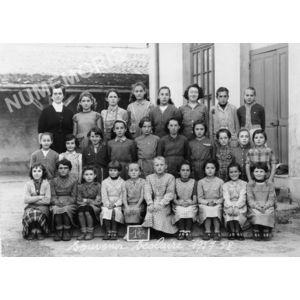 Chirens école en 1957-58 filles
