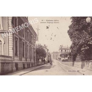 012 Voiron (Isère) avenue Dugueyt-Jouvin