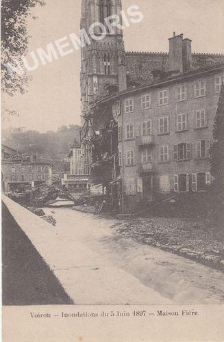 la crue de la morge en 1897