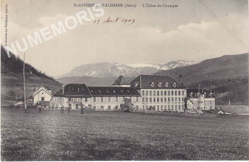Saint Geoire en Valdaine hameaux