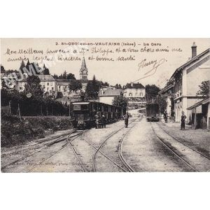 002 St-Geoire-en-Valdaine (Isère) la gare