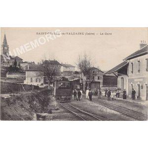 Saint-Geoire-en-Valdaine (Isère) la gare