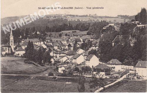 Saint Geoire en Valdaine vues générales