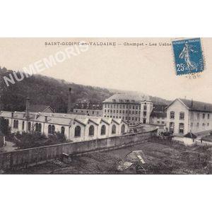 Saint-Geoire-en-Valdaine Champet les usines