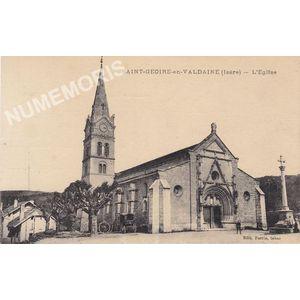 Saint-Geoire-en-Valdaine (Isère) l'église