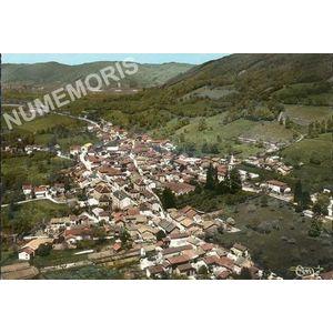 la Murette (Isère) 503110 vue générale aérienne