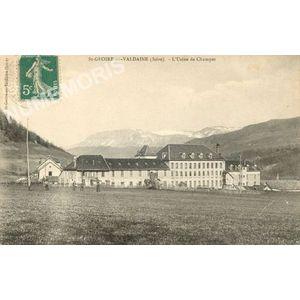 St-Geoire-en-Valdaine (Isère) l'usine de Champet