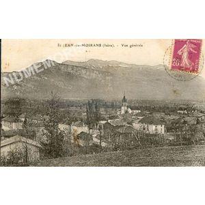 St-Jean-de-Moirans (Isère) vue générale