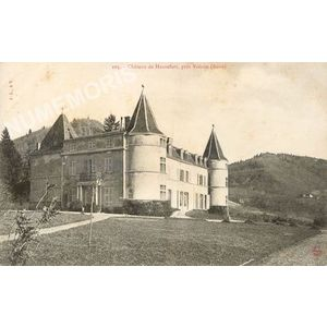 105 château de Hautefort, près Voiron (Isère)