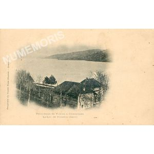 Tramways de Voiron à Charavines le lac de Paladru (Isère)