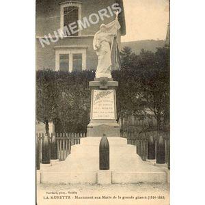 La Murette monument aux morts de la grande guerre (1914-1918)