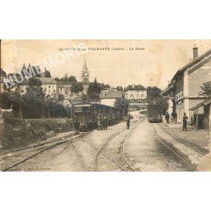 St-Geoire-en-Valdaine (Isère) la gare