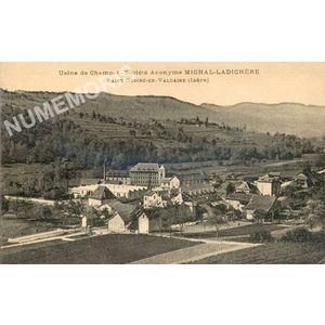 Usine de Champet Société Anonyme Michal-Ladichère Saint-Geoire-en-Valdaine (Isère)