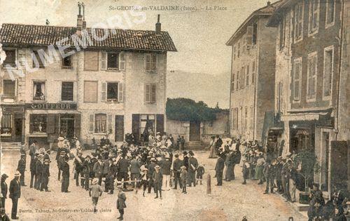 Saint Geoire en Valdaine Bourg