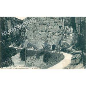 327 Dauphiné Chartreuse les gorges du Crossey et le tunnel